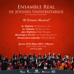 Ensamble real de jóvenes universitarios ofrecerá concierto el éxtasis musical