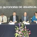 Firman convenio de colaboración la UAA Y UASLP