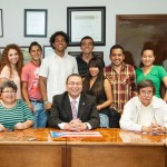 Recibe MAC a estudiantes de movilidad del semestre enero-junio 2013