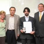 Profesor del Departamento de Letras de la UAA recibe medalla Alfonso Caso de la UNAM