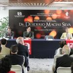 Se instituye bajo el nombre Doctor Desiderio Macías Silva la Biblioteca Central de la Autónoma de Aguascalientes