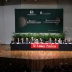 Entrega UAA Presea Universitaria y distinción a Benefactor de la Institución en evento solemne del 40 aniversario