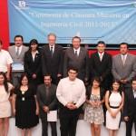 Reciben reconocimiento estudiantes de la maestría en ingenieria civil de la UAA