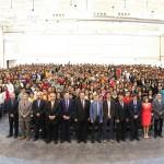 UAA realiza bienvenida a estudiantes de nuevo ingreso del ciclo escolar agosto-diciembre 2013