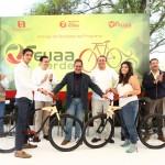 Se pone en marcha el proyecto Rueda Verde con la entrega de 50 bicicletas que beneficiarán a la comunidad estudiantil de la UAA