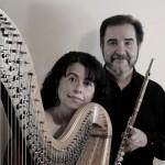 Duo Angels interpretará música para flauta y arpa en Polifonia Universitaria