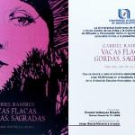 UAA presenta obra pictórica y literaria de Gabriel Ramírez