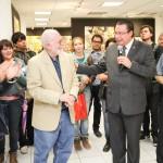 UAA presenta libro e inaugura exposición de Gabriel Ramírez
