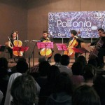 Ensamble y Cello, agrupación de cuerdas que interpretó obras clásicas en Polifonía Universitaria