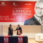 Imparte Javier Solórzano conferencia sobre el México actual en la UAA