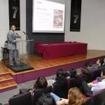 Se presentó en la UAA conferencia magistral sobre la relación entre Reino Unido y México