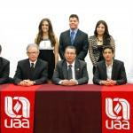 Crecimiento de la UAA para beneficio de los estudiantes, quienes deben aprovecharlo