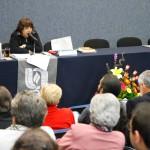 Lourdes Franco Bagnouls imparte cátedra Dolores Castro en la UAA