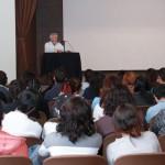 Primer actor José Carlos Ruiz imparte cátedra prima sobre actuación en la UAA