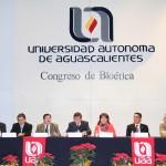 Se inauguran en la UAA congresos nacional, internacional y estudiantil de Bioética