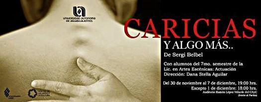 738 Obra Teatro-Caricias y Algo Mas-