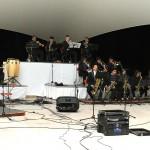 Big Band Universitaria realiza concierto en la velaria de la Mezquitera UAA