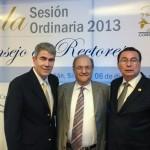 Fortalece rector de la UAA lazos con SEP y ANUIES