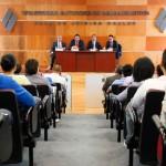 Inician festejos por 35 aniversario de Derecho con la presentación del libro La Delincuencia Organizada