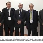 Emprende rector de la UAA proceso de vinculación con universidades Iberoamericanas