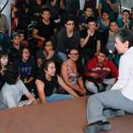 Necesario crear políticas de estado para las artes, opina actriz Luisa Huerta en foro de la UAA