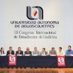 Se puso en marcha en la UAA III Congreso Internacional de Estudiantes de Medicina