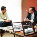 Continuará autoridad universitaria apoyando proyectos de FEUAA en beneficio de la comunidad estudiantil