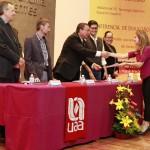 Reconoce UAA a mejores promedios de la licenciatura en Ciencias Políticas y Administración Pública