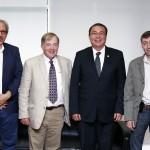 Autoridades UAA y presidente emérito de AICCU inicia trabajos para vinculación estratégica