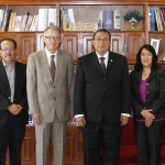 Fideicomiso PROMEXICO interesado en vincular a empresas con la MATERFAD  de la UAA