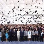 Egresan 468 jóvenes del bachillerato Central UAA