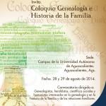 UAA será sede del coloquio de genealogía e historia de la familia