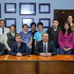 Estudiantes de la UAA en primeros lugares de campamento espacial