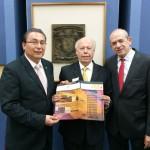 Asiste rector a celebración del X aniversario de ECOES en la UNAM