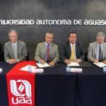Firman convenio de colaboración UAA y CMIC