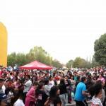 Inauguran competidores de la Carrera Atlética Gallos el Circuíto Universitario