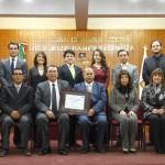 STJE reconoce a estudiantes de Derecho de la UAA por su participación en el Segundo Certamen Nacional de la CONATRIB