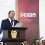 Rector de la UAA rinde primer informe de su segundo período