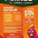Invita UAA a su escuela de iniciación deportiva pollitos 2015