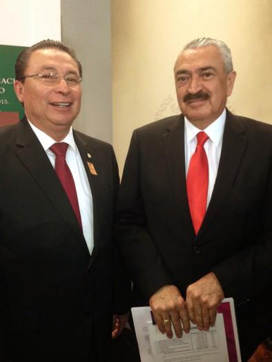Subsecretario Efren Rojas Davila - Mtro Mario Andrade