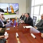 Visita Cónsul General de España en Guadalajara a la Universidad Autónoma de Aguascalientes