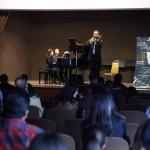 Músicos de talla internacional impartieron clases magistrales y concierto de materiales en la UAA