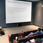 Director de la película Humano ofreció charla a estudiantes de Artes Cinematográficas y Audiovisuales de la UAA
