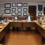El rector Mario Andrade Cervantes sostuvo una reunión de trabajo con los integrantes de la Honorable Junta de Gobierno