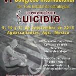 Instituciones unen esfuerzos para abordar el tema del suicidio en congreso internacional y  foro estatal de estrategias de prevención