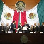 UAA y otras 10 universidades firman convenio con el Congreso de la Unión