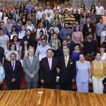 Entrega rector reconocimientos a mejores promedios del CCDC