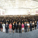 Más de 800 jóvenes terminan estudios de bachillerato en la UAA
