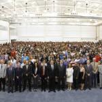 Autoridades de la UAA dan bienvenida a estudiantes de nuevo ingreso