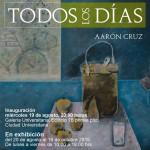 Aarón Cruz expone en la Galería Universitaria de la UAA